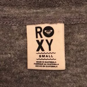 Roxy Tops - Roxy Distressed Cropped Long Sleeve Shirt Small